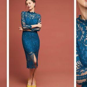 Anthropologie Yumi Kim Antoinette Lace Dress M.